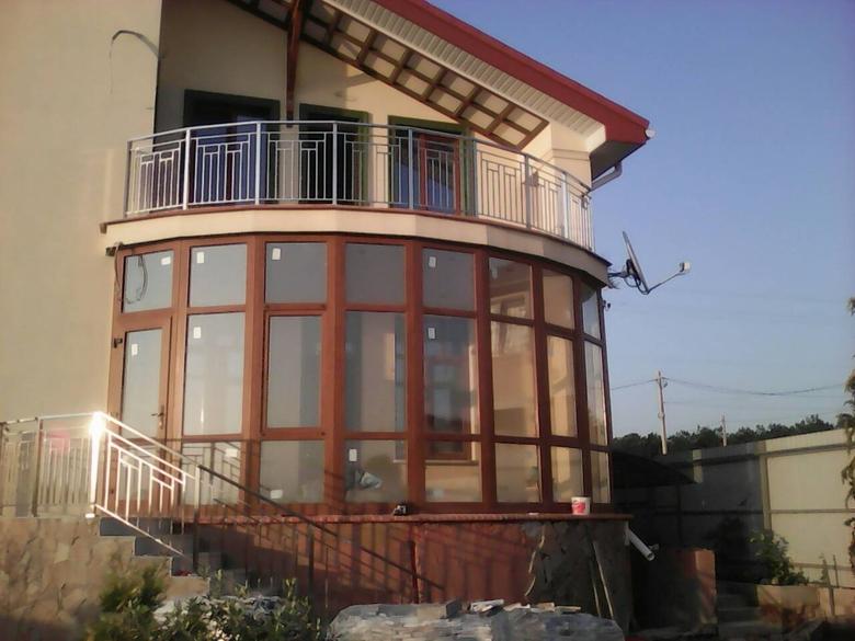 Производим балконные ограждение из нержавеющей стали