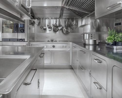 Самое интересное из мирового дизайна. Профессиональная кухня из нержавеющей стали Abimis EGO от компании PRISMA
